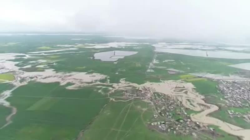 Мощный потоп разрушил десятки деревень в регионе Туркменсахра в Иране Türkmənsəhrada daşqın