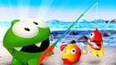 Игрушки для малышей— Мультик для самых маленьких: АмНям иПесочница— Ловим рыбку