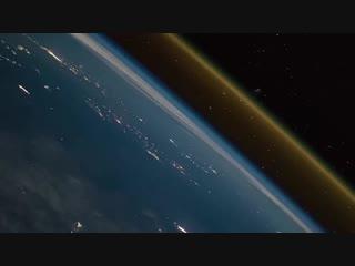 Пуск космического корабля Союз ФГ. Невероятной красоты видео из космоса.