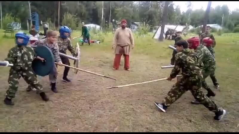военно- патриотический лагерь Беркут
