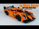 Instructions for Le Mans Racer LEGO Technic 42093 E Model