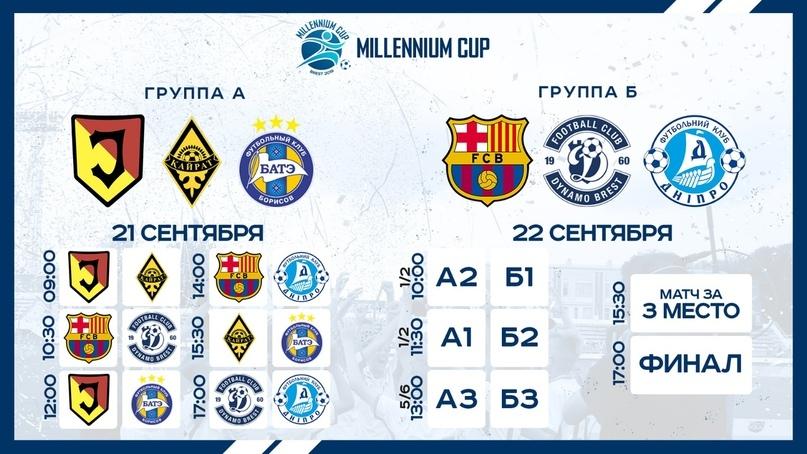 """Международный турнир """"Millennium Cup"""" станет еще одним подарком городу в его 1000-летие"""