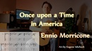 Once Upon a Time in America - Fingerstyle Guitar Cover TABS