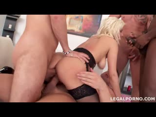 Nataly Cherie - First double anal, gangbang anal porno