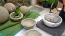 Esferas de cimento para jardim mega fácil de fazer (se inscreva e ative o sininho 😍)