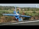 IMAGES À Perpignan un avion de la Patrouille de France se crashe à l'aéroport