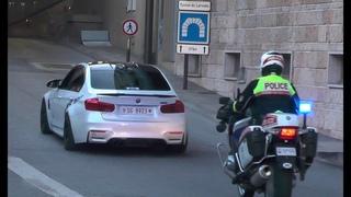 Police vs Supercars in Monaco - Top Marques 2018