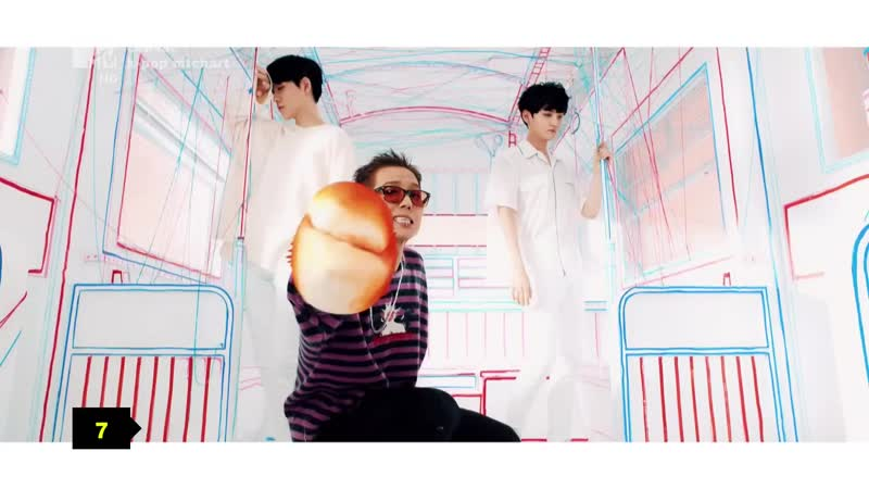 Winner — Ah Yeah (MTV Россия HD) K-POP MTChart. 7 место