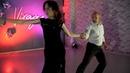 Аргентинское танго в студии танца Вираж Преподаватели Дмитрий Кишканов и Юлия Адельева