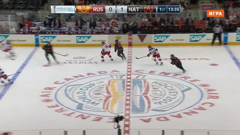 Хоккей. КМ. Северная Америка U23 - Россия (Матч.19.09.2016)