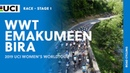 2019 UCI Women's WorldTour Emakumeen Bira Highlights Stage 1