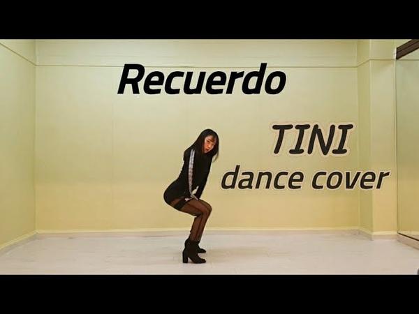 TINI, Mau y Ricky - Recuerdo (mirror dance cover) from CoreanaYujin