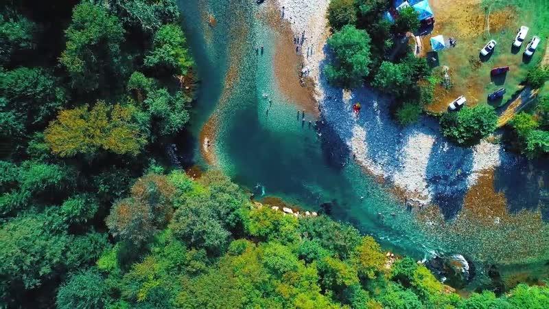 N O K A L A K E V I მდინარე ტეხურის ხეობა ნოქალაქევში RIVER TEKHURI RAVINE IN