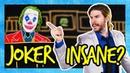 Is The Joker Legally Insane