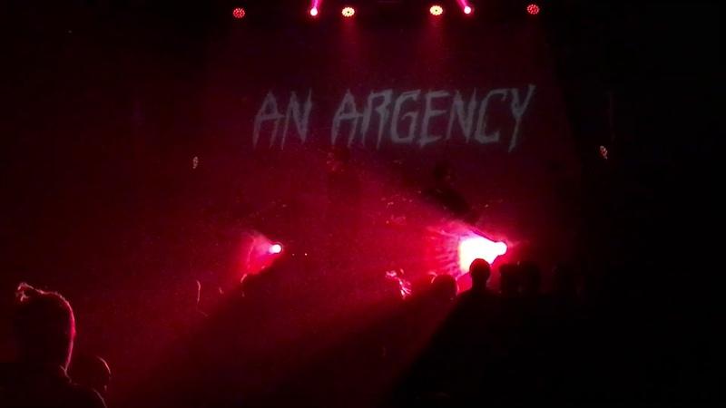 An Argency - Backbone (Live in Minsk @ Brugge Club 11.10.2019)