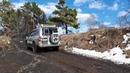 Разведка маршрута на Паджеро 3 offroad очень много глины