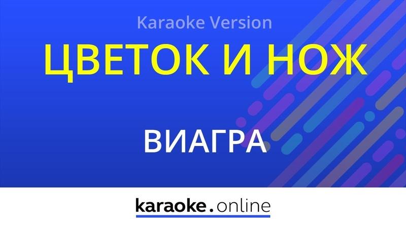 Цветок и нож ВиаГра Karaoke version