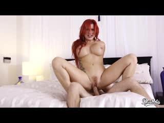 Savana Styles - Sexy Redhead Loves Riding Huge Cock - Porno, All Sex, Hardcore, Blowjob, MILF, Big Tits