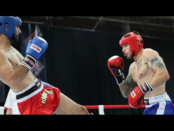 Vlad TUINOV vs Ali CAKIR WORLD CHAMPIONSHIP WAKO One fourth finals in the 75kg weight category