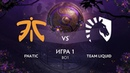 Fnatic vs Team Liquid игра 1 BO1 The International 9 Плей-офф День 1