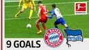 Bayern München vs. Hertha Berlin | All Goals in the Last 5 Matches - Lewandowski, Duda, Co.