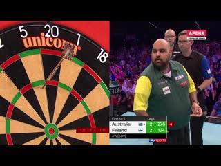 Australia vs Finland (PDC World Cup of Darts 2019 / Round 1)