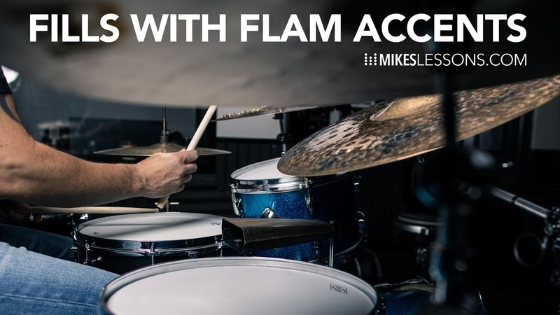 Drum Fills with Flam Accents... kinda