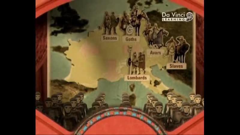 Компас времени 6 серия Империя Каролингов