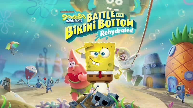 Радио ДэнчикFM. Продолжаем проходить SpongeBob SquarePants - Battle for Bikini Bottom - Rehydrated. (Часть 4) Финал.