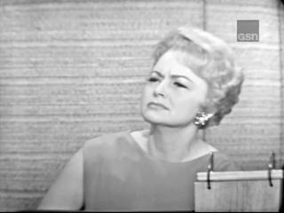 What's My Line? - Olivia De Havilland; Martin Gabel & Carol Channing [panel] (Aug 8, 1965)