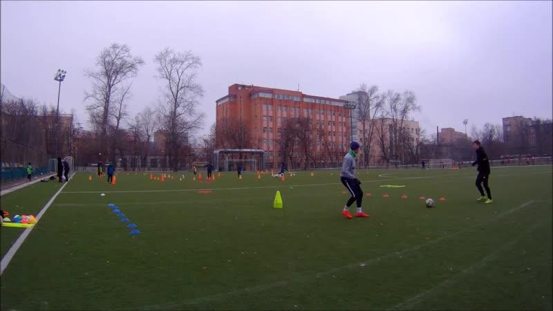 Индивидуальная футбольная тренировка Технико физический комплекс
