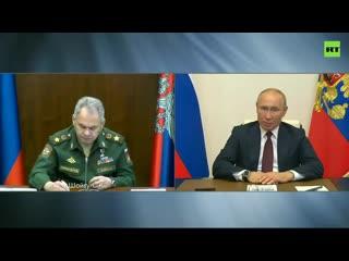 Путин назначил даты проведения парада Победы и шествия «Бессмертного полка»