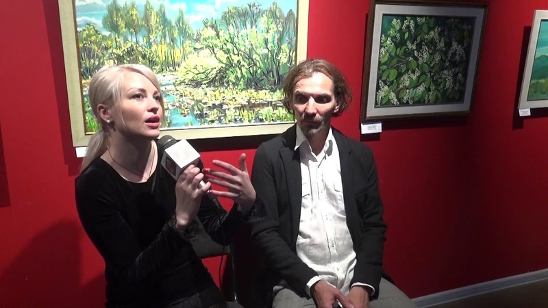 Интервью Алексея Гилярова популярный художнок, куратор выставки