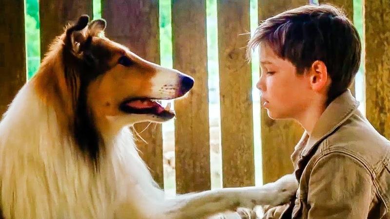 Лесси Возвращение домой Русский трейлер 2 2020