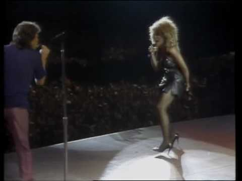 Tina Turner - Mick Jagger - State of shock - Its only Rock and Roll