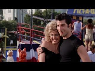 John Travolta And Olivia Newton John - Youre The One That I Want. 1080р