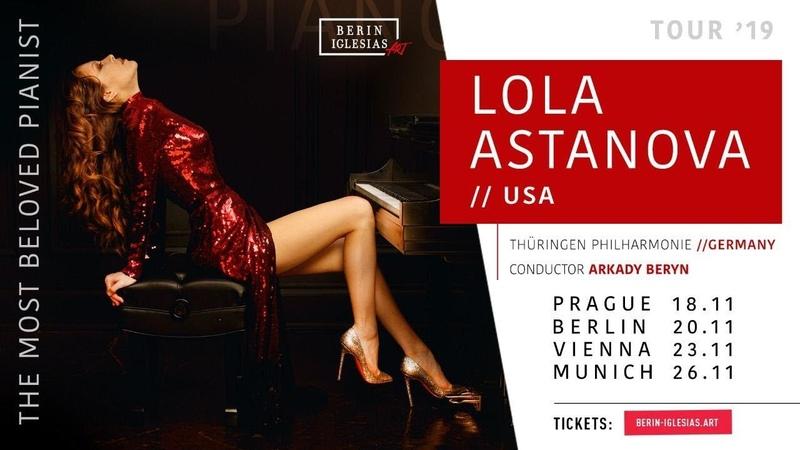 Lola Astanova - Rachmaninoff 2nd piano concerto & Gershwin's Rhapsody in Europe (GET TICKETS)