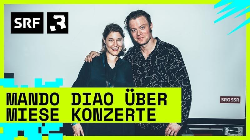 Heitere Openair Mando Diao über miese Konzerte Festivalsommer 2019 Radio SRF 3