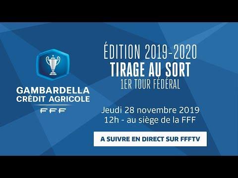 Tirage du 1er Tour Fédéral de la Coupe Gambardella le replay I FFF 2019