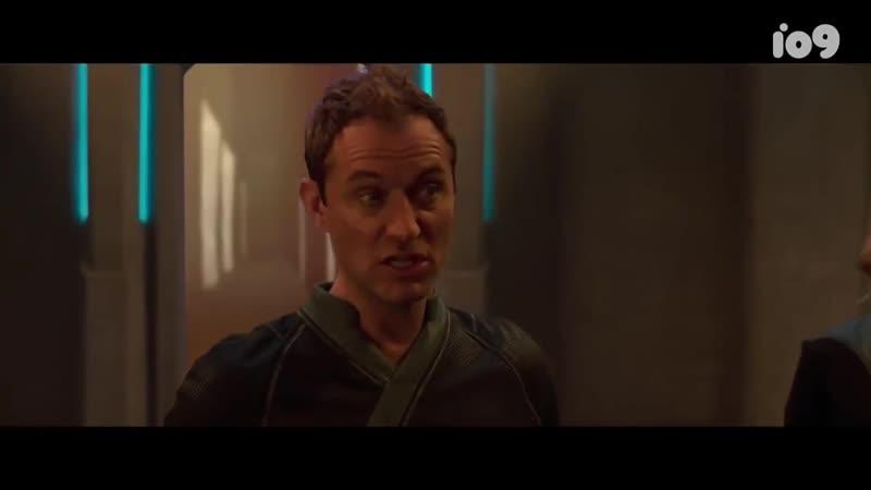 Капитан Марвел - вырезанная сцена