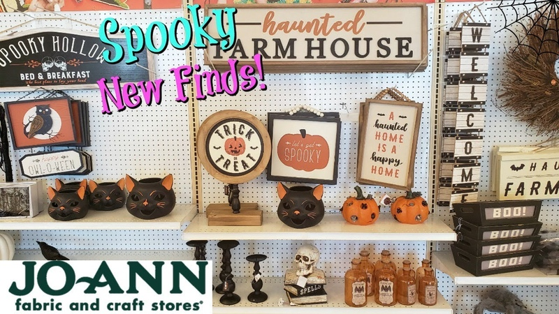 JOANN'S HALLOWEEN NEW MERCHANDISE * COME WITH ME 2019