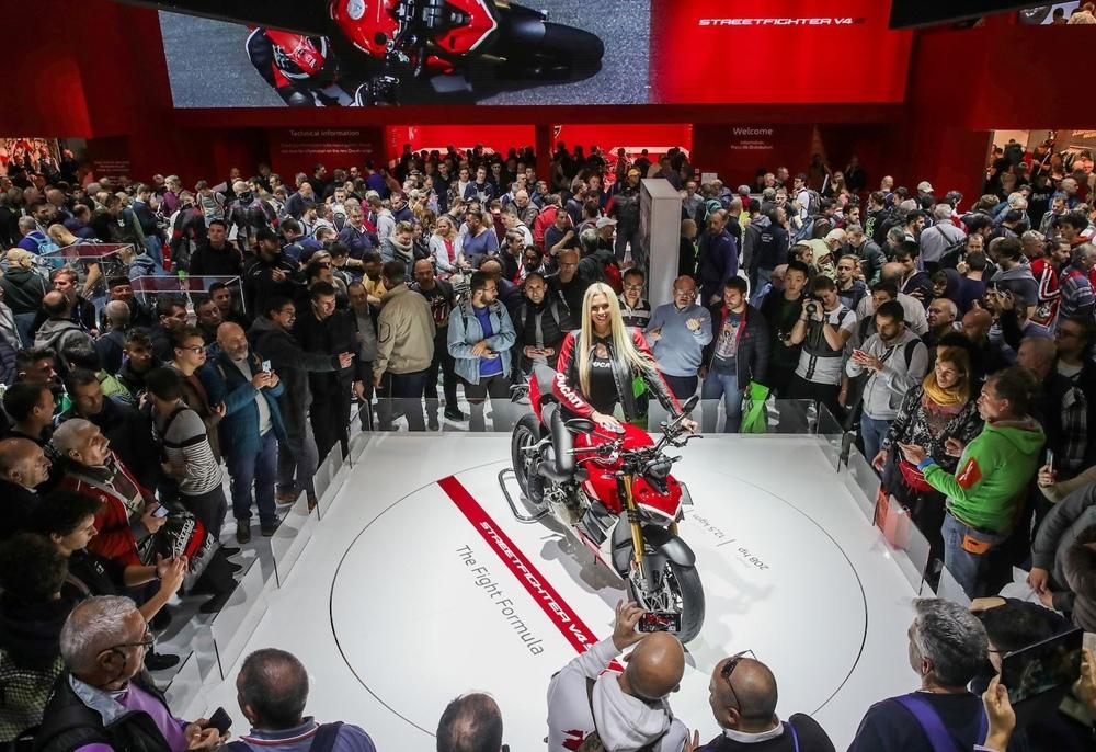 Ducati Streetfighter V4 S 2020 - самый красивый мотоцикл EICMA 2019