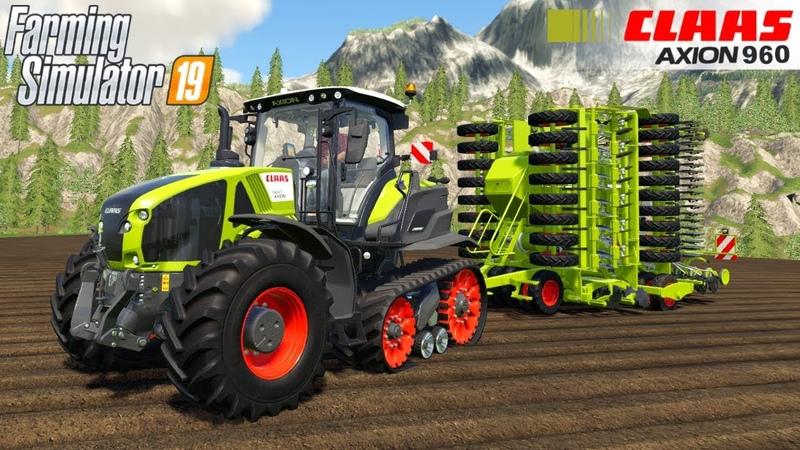 Farming Simulator 19 - CLAAS 960 TERRA TRAC Tracked Tractor
