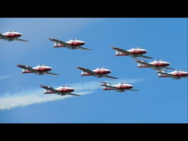 A CANADIAN FORCES SNOWBIRDS TRIBUTE to Capt Jenn Casey Capt Richard MacDougall