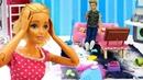 Видео про куклы. Барби и Кен в шоке от бардака. Делаем генеральную уборку дома! Игрушки для девочек