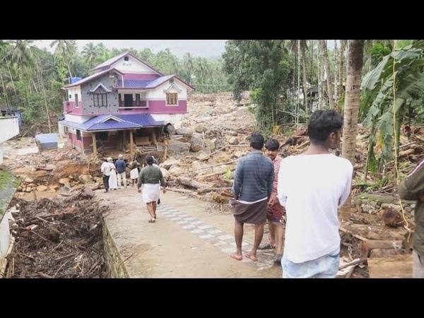 Mousson meurtrière en Inde entre pluies et déforestation alerte rouge dans le Kerala