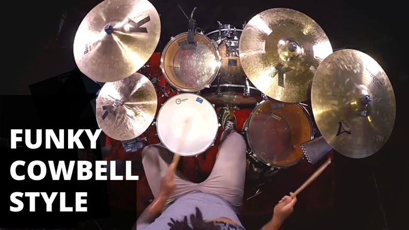 Steve Gadd Mozambique Drum Lesson | Funky Cowbell Style Lesson on Drums | Ben Satterlee