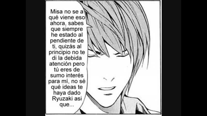 Fanfic Death Note confesiones por Iriku michelle parte 21