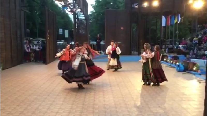ансамбль Кралиця. танець Шир м.Міява- 2017, Словаччина