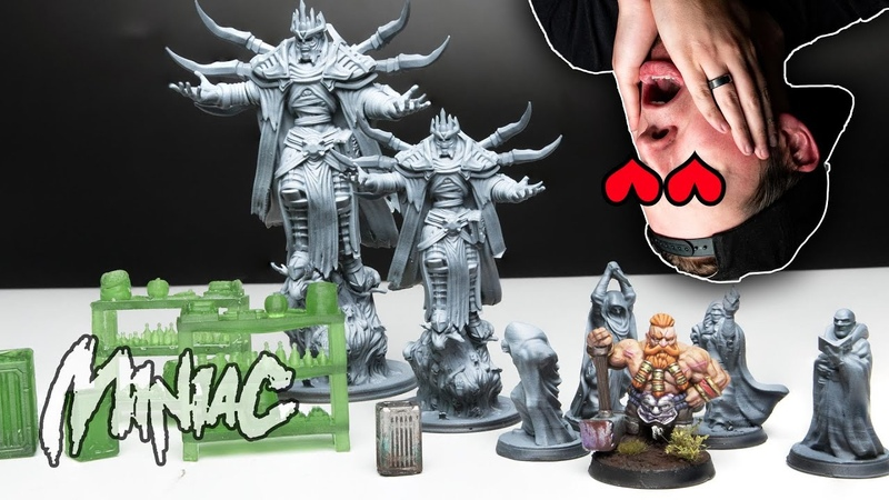 3D Printed Miniatures Finally Amazing? | Anycubic Photon S